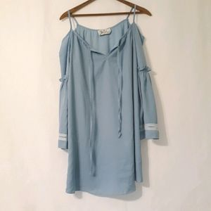 Va va by joy hon blue baby doll dress
